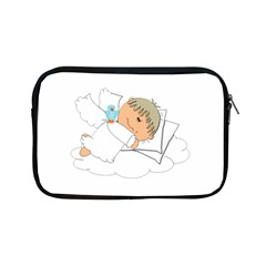 Sweet Dreams Angel Baby Cartoon Apple Ipad Mini Zipper Cases by Nexatart