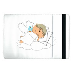 Sweet Dreams Angel Baby Cartoon Samsung Galaxy Tab Pro 10 1  Flip Case by Nexatart