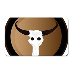 Logo The Cow Animals Magnet (rectangular)