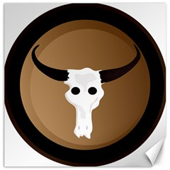 Logo The Cow Animals Canvas 20  X 20   by Nexatart