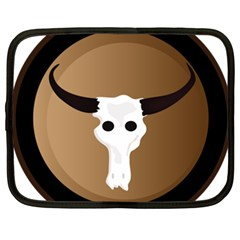 Logo The Cow Animals Netbook Case (xxl)  by Nexatart