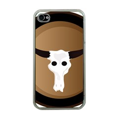 Logo The Cow Animals Apple Iphone 4 Case (clear) by Nexatart