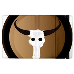 Logo The Cow Animals Apple Ipad 2 Flip Case by Nexatart
