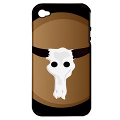 Logo The Cow Animals Apple Iphone 4/4s Hardshell Case (pc+silicone) by Nexatart