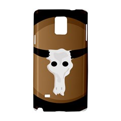 Logo The Cow Animals Samsung Galaxy Note 4 Hardshell Case