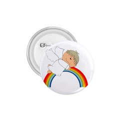 Angel Rainbow Cute Cartoon Angelic 1 75  Buttons