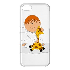 Pet Giraffe Angel Cute Boy Apple Iphone 5c Hardshell Case by Nexatart