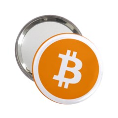 Bitcoin Cryptocurrency Currency 2 25  Handbag Mirrors by Nexatart