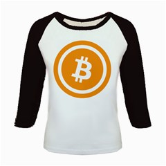 Bitcoin Cryptocurrency Currency Kids Baseball Jerseys by Nexatart