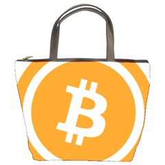 Bitcoin Cryptocurrency Currency Bucket Bags by Nexatart