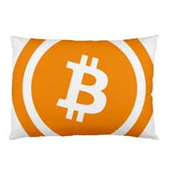 Bitcoin Cryptocurrency Currency Pillow Case (two Sides) by Nexatart