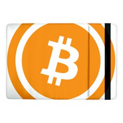 Bitcoin Cryptocurrency Currency Samsung Galaxy Tab Pro 10 1  Flip Case by Nexatart