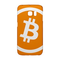 Bitcoin Cryptocurrency Currency Galaxy S6 Edge by Nexatart