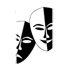 Theatermasken Masks Theater Happy Memory Card Reader