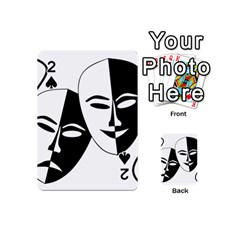 Theatermasken Masks Theater Happy Playing Cards 54 (mini)  by Nexatart