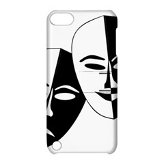 Theatermasken Masks Theater Happy Apple Ipod Touch 5 Hardshell Case With Stand by Nexatart