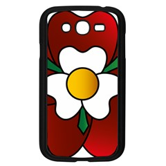 Flower Rose Glass Church Window Samsung Galaxy Grand Duos I9082 Case (black)