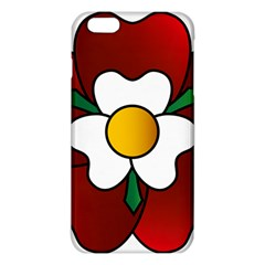 Flower Rose Glass Church Window Iphone 6 Plus/6s Plus Tpu Case by Nexatart