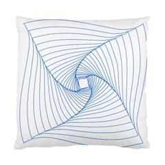 Spirograph Pattern Drawing Design Standard Cushion Case (one Side) by Nexatart