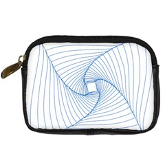 Spirograph Pattern Drawing Design Digital Camera Cases by Nexatart