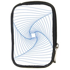 Spirograph Pattern Drawing Design Compact Camera Cases by Nexatart