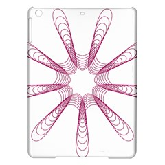 Spirograph Pattern Circle Design Ipad Air Hardshell Cases by Nexatart