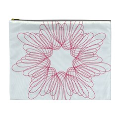 Spirograph Pattern Drawing Design Cosmetic Bag (xl)