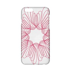 Spirograph Pattern Drawing Design Apple Iphone 6/6s Hardshell Case by Nexatart
