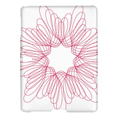 Spirograph Pattern Drawing Design Samsung Galaxy Tab S (10 5 ) Hardshell Case  by Nexatart