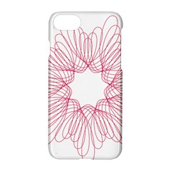 Spirograph Pattern Drawing Design Apple Iphone 7 Hardshell Case