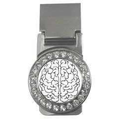 Brain Mind Gray Matter Thought Money Clips (cz)  by Nexatart