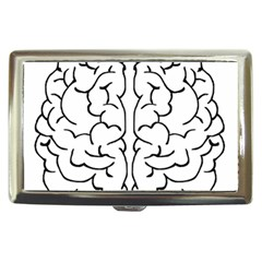 Brain Mind Gray Matter Thought Cigarette Money Cases by Nexatart