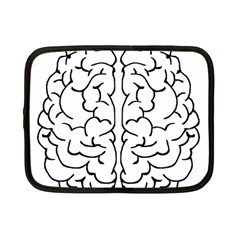 Brain Mind Gray Matter Thought Netbook Case (small)