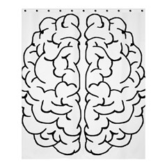 Brain Mind Gray Matter Thought Shower Curtain 60  X 72  (medium)  by Nexatart