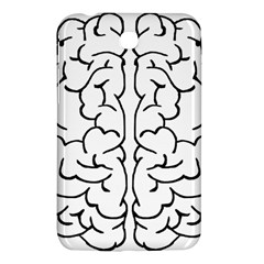 Brain Mind Gray Matter Thought Samsung Galaxy Tab 3 (7 ) P3200 Hardshell Case