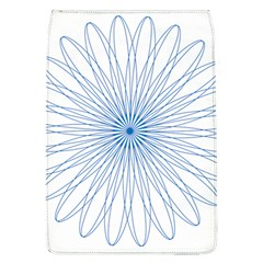 Spirograph Pattern Circle Design Flap Covers (l)