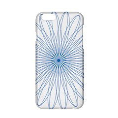 Spirograph Pattern Circle Design Apple Iphone 6/6s Hardshell Case by Nexatart
