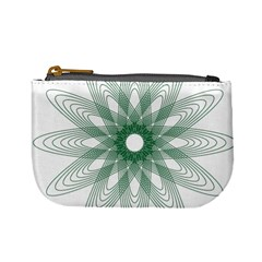 Spirograph Pattern Circle Design Mini Coin Purses by Nexatart