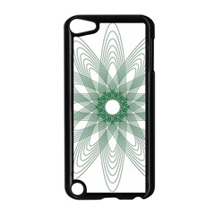 Spirograph Pattern Circle Design Apple Ipod Touch 5 Case (black) by Nexatart