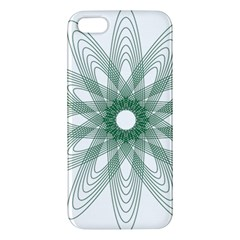 Spirograph Pattern Circle Design Iphone 5s/ Se Premium Hardshell Case by Nexatart
