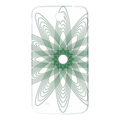 Spirograph Pattern Circle Design Samsung Galaxy Mega I9200 Hardshell Back Case