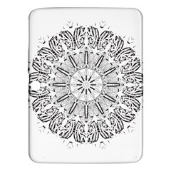 Art Coloring Flower Page Book Samsung Galaxy Tab 3 (10 1 ) P5200 Hardshell Case  by Nexatart