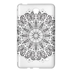 Art Coloring Flower Page Book Samsung Galaxy Tab 4 (7 ) Hardshell Case