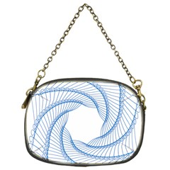 Spirograph Spiral Pattern Geometric Chain Purses (one Side)