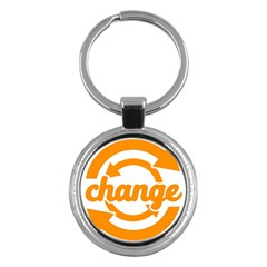 Think Switch Arrows Rethinking Key Chains (round)  by Nexatart