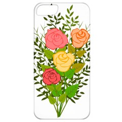Roses Flowers Floral Flowery Apple Iphone 5 Classic Hardshell Case by Nexatart