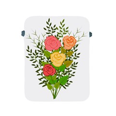 Roses Flowers Floral Flowery Apple Ipad 2/3/4 Protective Soft Cases by Nexatart