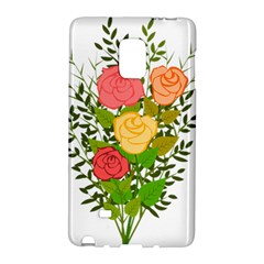 Roses Flowers Floral Flowery Galaxy Note Edge