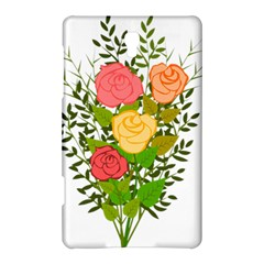 Roses Flowers Floral Flowery Samsung Galaxy Tab S (8 4 ) Hardshell Case  by Nexatart