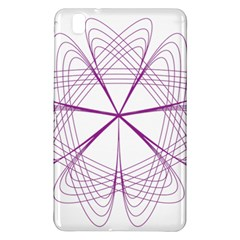 Purple Spirograph Pattern Circle Geometric Samsung Galaxy Tab Pro 8 4 Hardshell Case